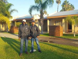 Palmhof Chalets Staff   Kakamas Accommodation
